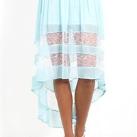 West Coast Wardrobe Bands of Lace Skirt