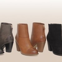 Women's Marci Ankle Booties - 3 Colors