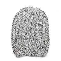 Cornell Slouchy Beanie - One Size / Gray Marble