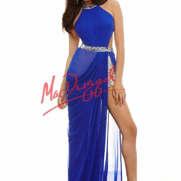 Cassandra Stone by Mac Duggal 82381 Sexy Beaded Romper