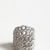 Breaking Chains Ring - $8.50: ThreadSence, Women's Indie & Bohemian Clothing, Dresses, & Accessories