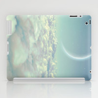 Dream Above The Clouds (Crescent Moon) iPad Case by Soaring Anchor Designs