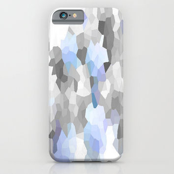 Blue & Gray Dreams iPhone & iPod Case by 2sweet4words Designs