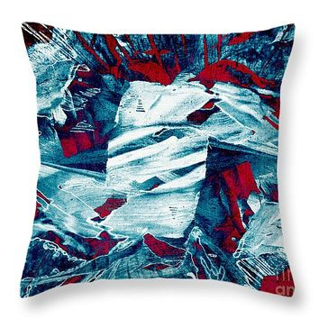 """Beneath the Surface 14"""" x 14"""" Throw Pillow for Sale by Shawna Rowe"""