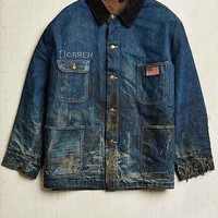 Vintage Lined Denim Chore Coat- Assorted One