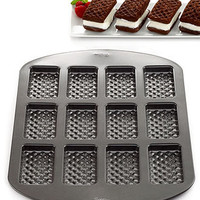 Wilton Ice Cream Sandwich Pan, 12 Cavity - Bakeware - Kitchen - Macy's