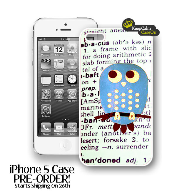 IPhone 5 Case, Cute Blue Owl IPhone.. on Luulla
