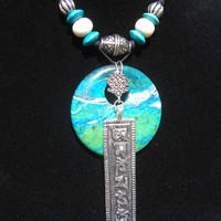 Tibetan Sky Necklace
