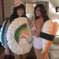 AWESOME Sushi Halloween Costume - California Sushi Roll