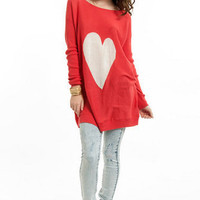 Big Heart Sweater $48