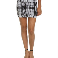 Grunge Body Con Skirt - Teen Clothing by Wet Seal