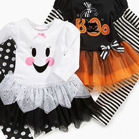 Bonnie Baby Set, Baby Girls Halloween Tutu Dress and Leggings - Kids Baby Girl (0-24 months) - Macy's