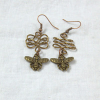 Bee Wire work Earrings