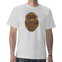 Owl Tee Shirt from Zazzle.com