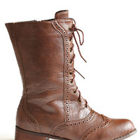 Hideaway Combat Boots - $46.00: ThreadSence, Women&#x27;s Indie &amp; Bohemian Clothing, Dresses, &amp; Accessories