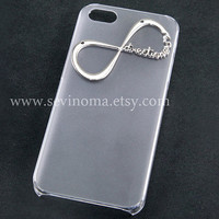 Iphone 5 Case, One Direction iphone case, Infinity iphone case, Harry Styles, clear hard case