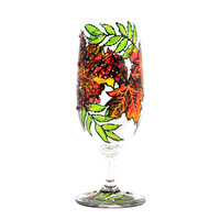 Hand Painted Glass, Autumn, Seasona.. on Luulla