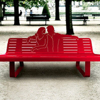 Outdoor Benches & Home Decor From Thomas de Lussac | materialicious