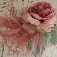 Ghost of a Rose by gardensofwhimsy