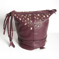 Studded Backpack Convertible Handbag | Sexy Clothes Womens Sexy Dresses Sexy Clubwear Sexy Swimwear | Flirt Catalog