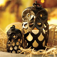 Owl Shaped Lantern