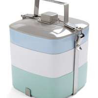 Tasty Trio Tiffin Box in Light Lunch | Mod Retro Vintage Kitchen | ModCloth.com