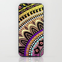 MOONFLOWER iPhone &amp; iPod Skin by Nika  | Society6