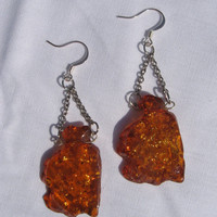 Amber Skies Earrings