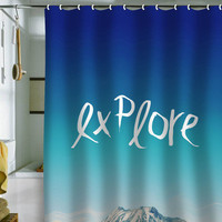 DENY Designs Home Accessories | Leah Flores explore Shower Curtain