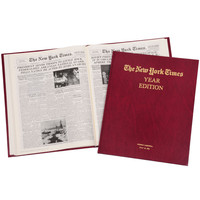 Complete New York Times Of Your Birth Date Book