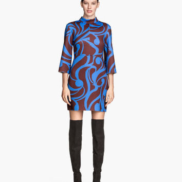 H&M Scuba-look Dress $49.95