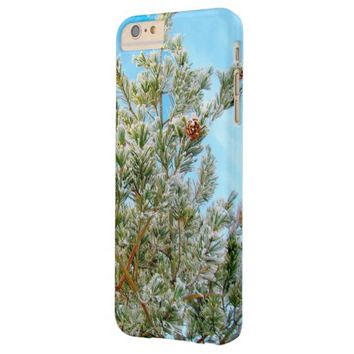 Snow-Covered Tree iPhone 6 Case