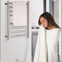 towel warmer, heated towel rack, electric towel warmer, heated towel racks, hydronic towel warmers