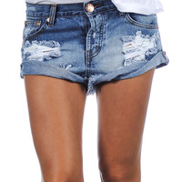 One Teaspoons Bandits cut-off shorts in ford