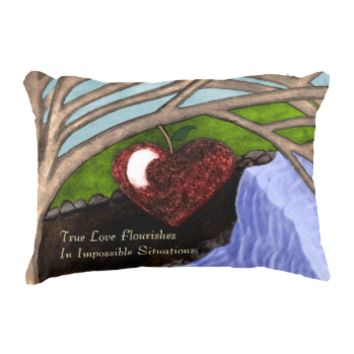 Impossible Love Accent Pillow