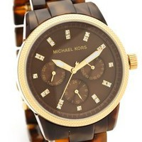 Michael Kors Tortoise Sport Watch | SHOPBOP