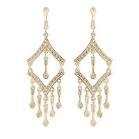 Freedom Found Arrow Drop Earrings - Gold