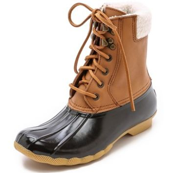 Sperry Top-Sider Shearwater Lined Booties