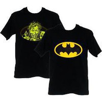 changing batman to joker shirt