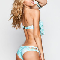 Rip Curl Sunland Hipster Bikini Bottoms Turquoise  In Sizes