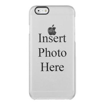 Create Your Own Custom Uncommon Clearly Deflector iPhone 6 Case
