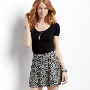 Aeropostale  Printed Pucker Skirt