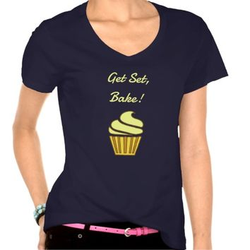 Get set bake gold cupcake