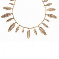 HOUSE OF HARLOW - HOUSE OF HARLOW FEATHER NECKLACE