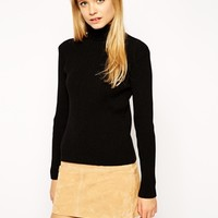 ASOS Rib Jumper With High Neck