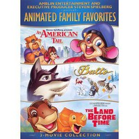 Animated Family Favorites 3-Movie Collection (2 Discs)