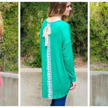 Must Have Lace Embellished Tunics