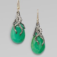 Alexis Bittar - Pavé Swarovski Crystal Accented Chrysoprase Earrings - Saks.com