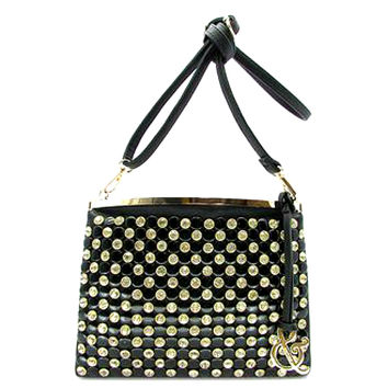 Messenger Rhinestone Tote Handbag Purse