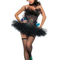 Adult Sexy Peacock Costume - Party City